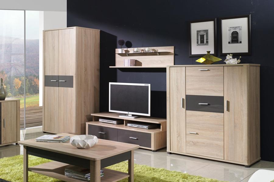 Obývací pokoj Fill 2, Fill 2 sestava jako foto bez stolu