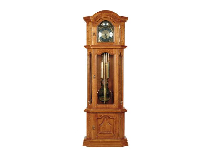 Rustikální nábytek Kinga, sloupové hodiny Kinga