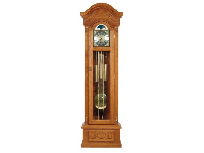 Rustikální nábytek Gubernator, sloupové hodiny Gubernator