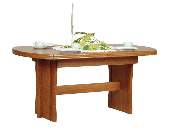 Rustikální nábytek Jídelní stůl Kornel, Stůl Kornel 160-340(4x45) x 95