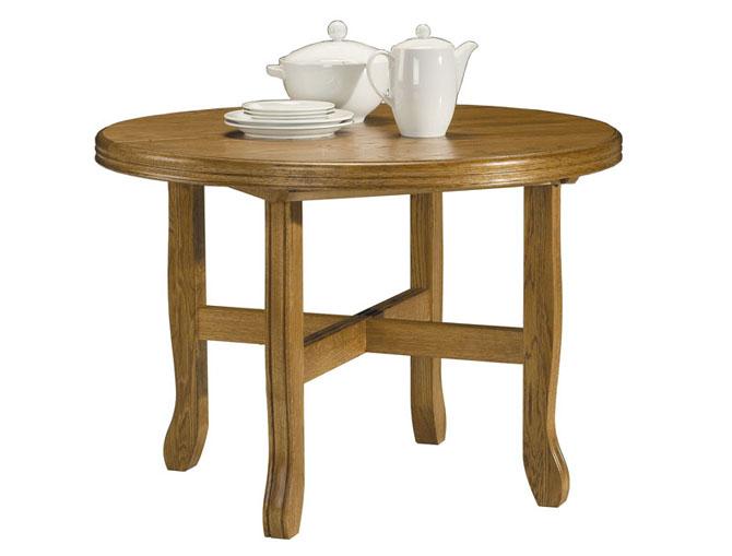 Rustikální nábytek Jídelní stůl Amado, Stůl Amado 110-150(1x40)