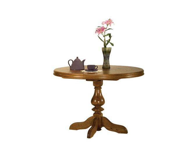 Rustikální nábytek Jídelní stůl Pluton, Stůl Pluton 95-135(1x40)