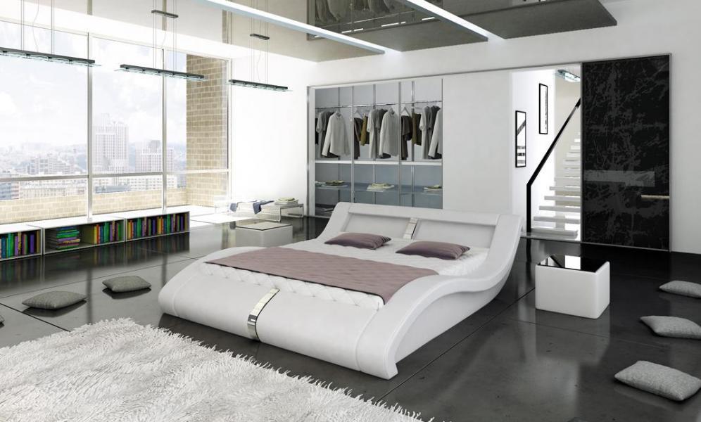 Ložnice Malibu, manželská postel 140x200
