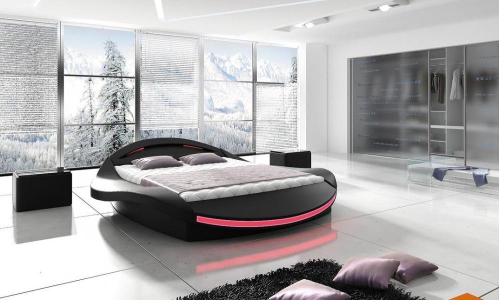 Ložnice Ferro 140x200, manželská postel 140x200