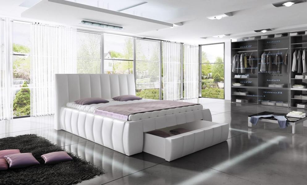 Ložnice Roma, manželská postel 140x200