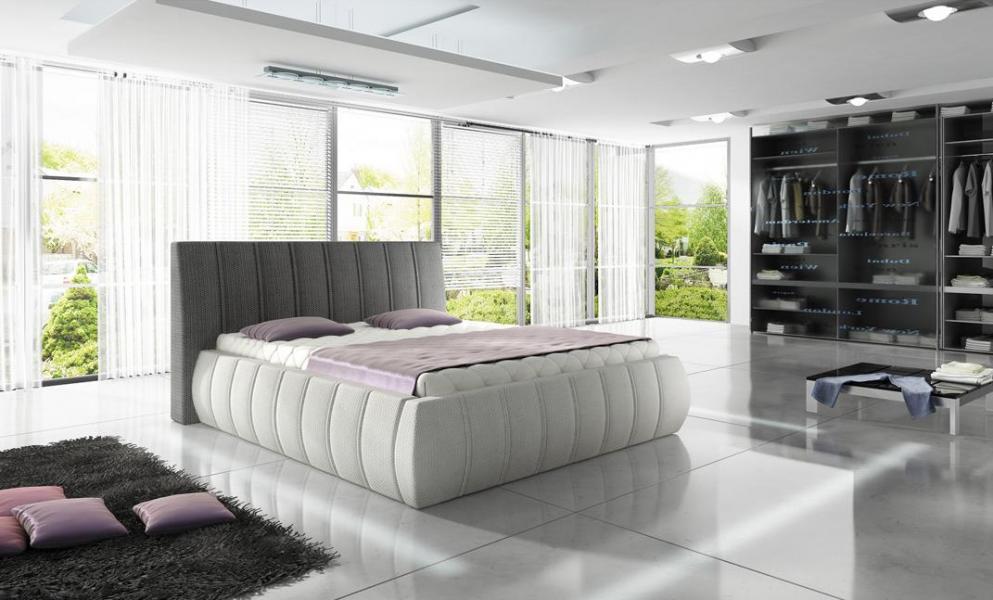 Ložnice Optima, manželská postel 140x200