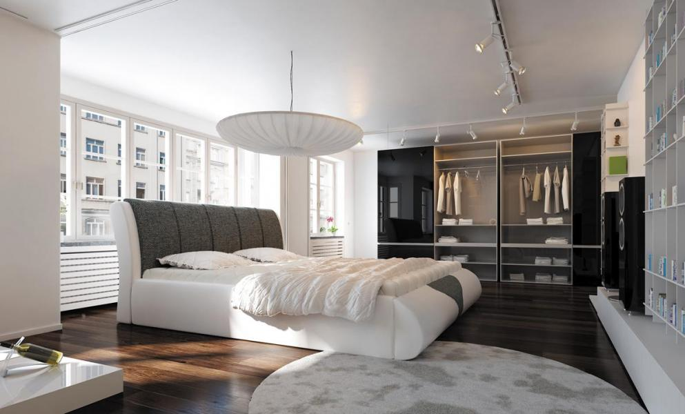 Ložnice Claro, manželská postel 140x200