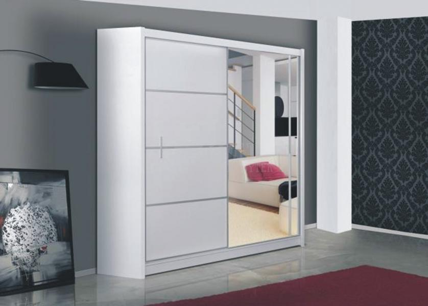Ložnice Vista 180, Skříň s posuvnými dveřmi