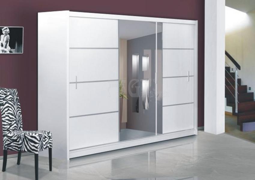 Ložnice Vista 250, Skříň s posuvnými dveřmi