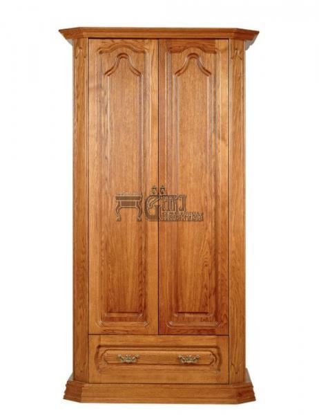 Rustikální nábytek KINGA skříň, Kinga skříň 108x202x65