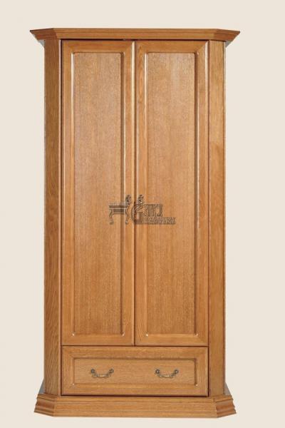 Rustikální nábytek MONIKA skříň, Monika skříň 108x202x65