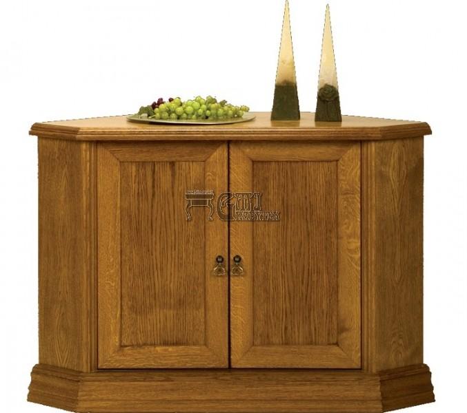 Rustikální nábytek MAGDA II komoda rohová, Magda II komoda rohová 110x75x70/70