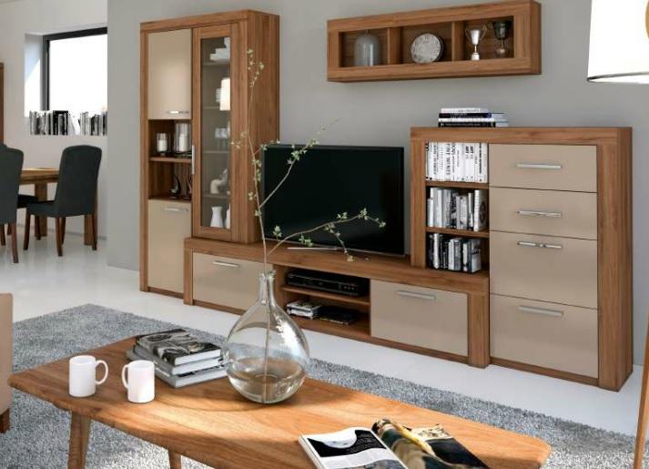 Obývací pokoj Amber, Obývací stěna