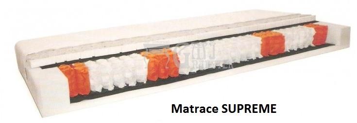 Ložnice Matrace Supreme, MATRACE SUPREME 80x200 cm