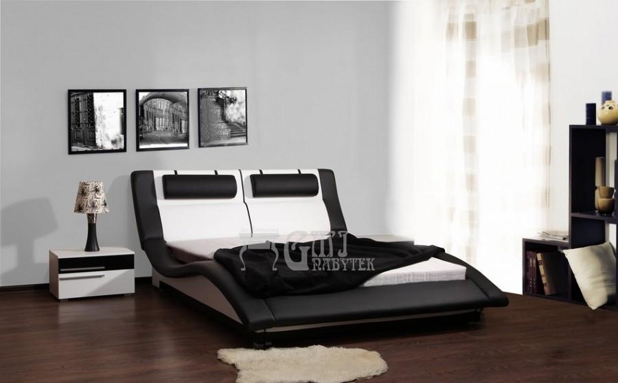 Ložnice Domino, Manželská postel Domino 140x200