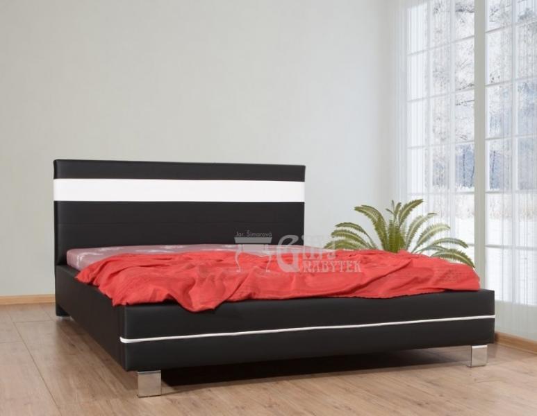 Ložnice Diablo, Manželská postel Diablo 140x200