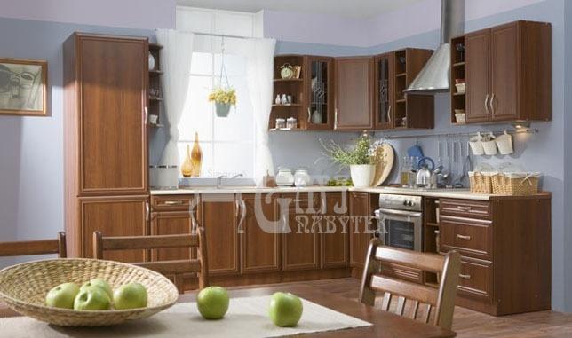 Kuchyně Sycylia Ořech dolní skříňky, Kuchyňská linka Sycylia cena od