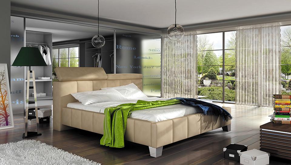 Ložnice Madeira, manželská postel 140x200