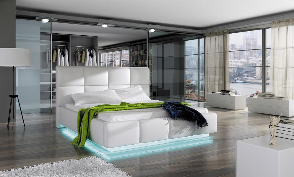 Ložnice Asti, manželská postel 140x200
