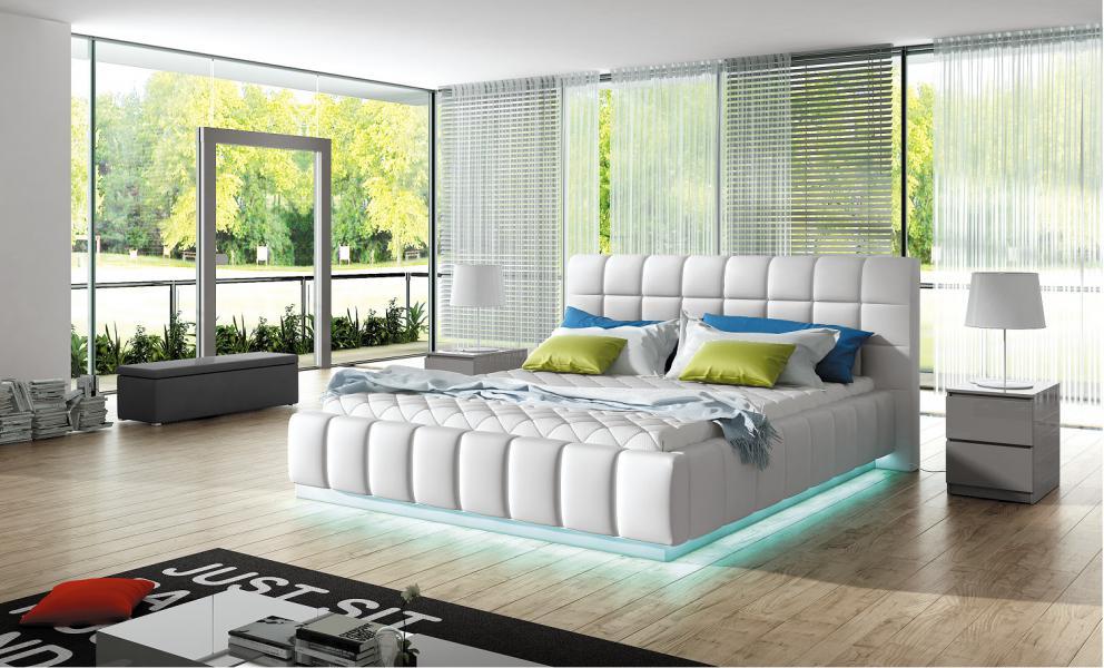Ložnice Prato, manželská postel 140x200