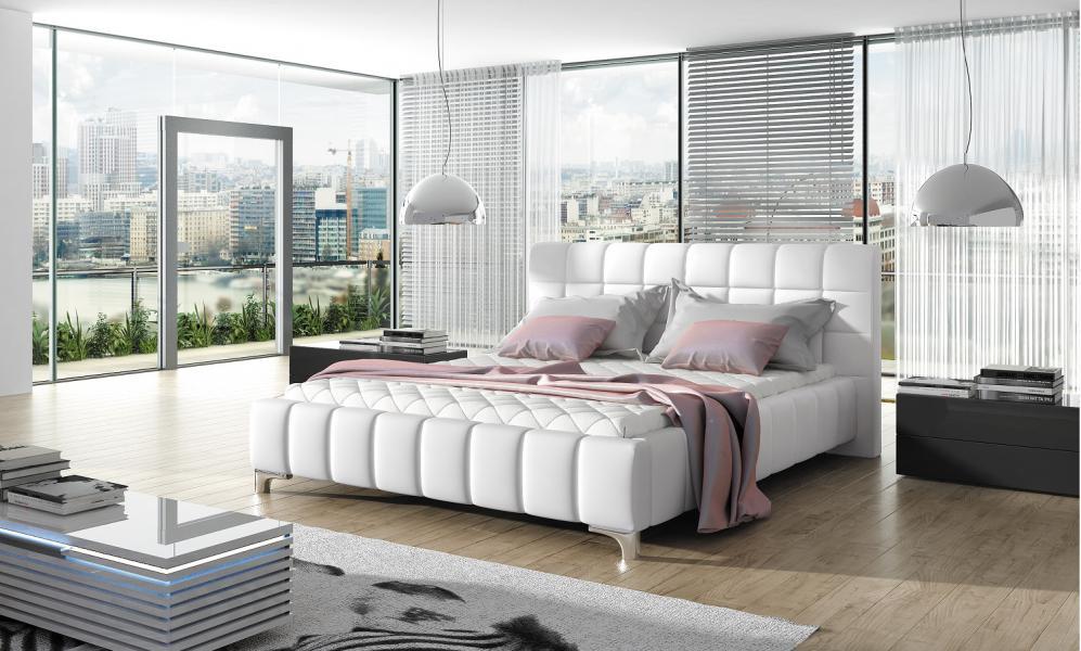 Ložnice Viva, manželská postel 140x200
