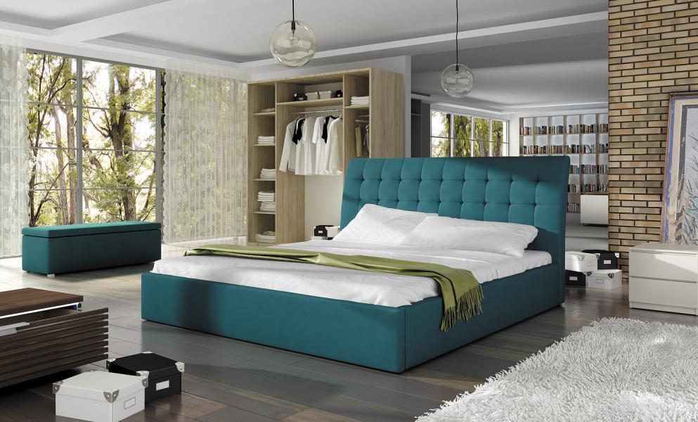 Ložnice Terasso, manželská postel 140x200