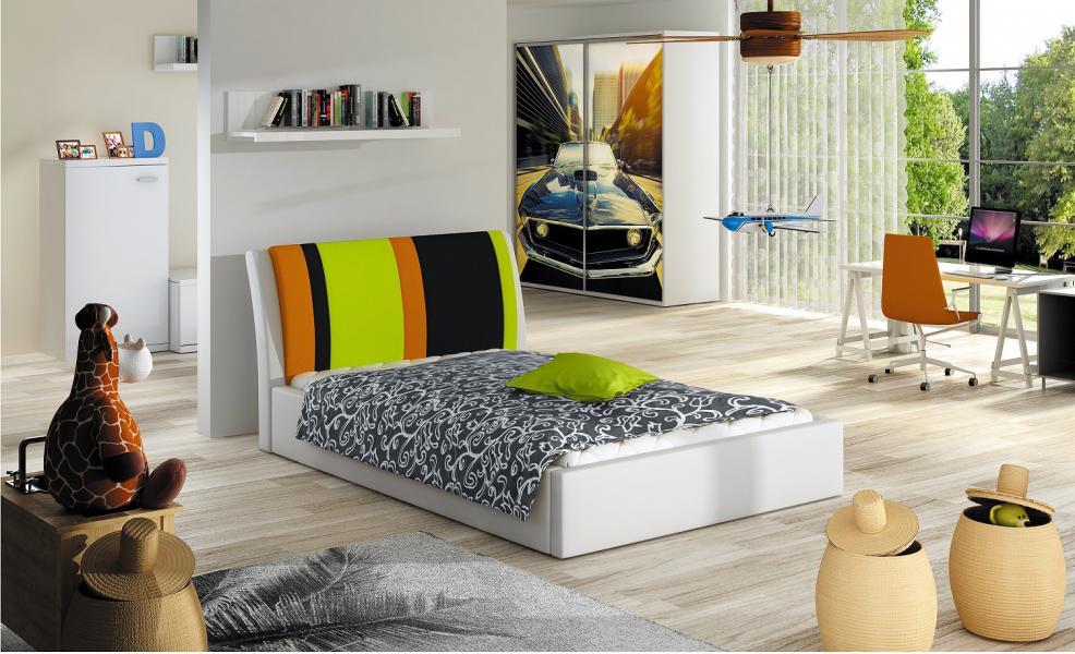 Ložnice Markéta, postel 100x200