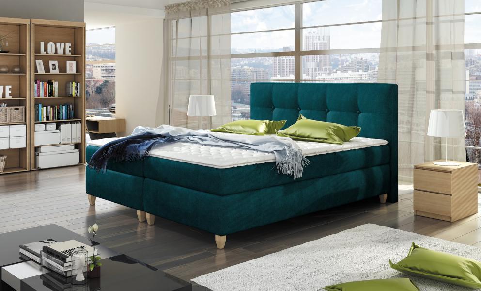 Ložnice Malta s matrací studená pěna luxus za rozumnou cenu, MALTA 140X200