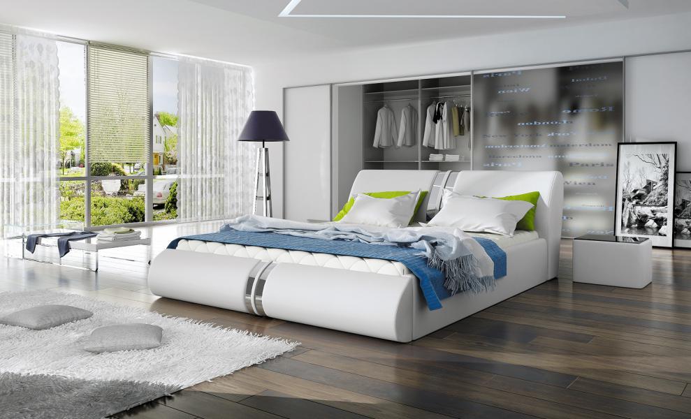 Ložnice Callisto, manželská postel 140x200