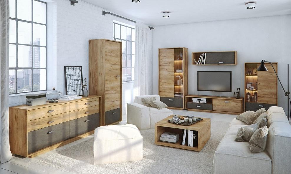Obývací pokoj Craft, Craft sestava skřínky od