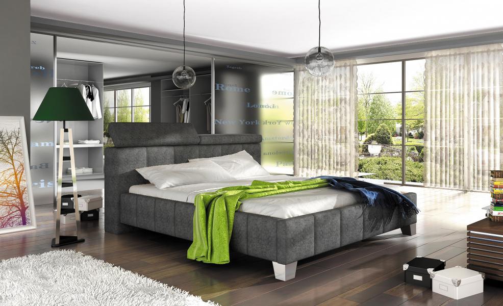Ložnice Madeira 180x200, manželská postel 180x200
