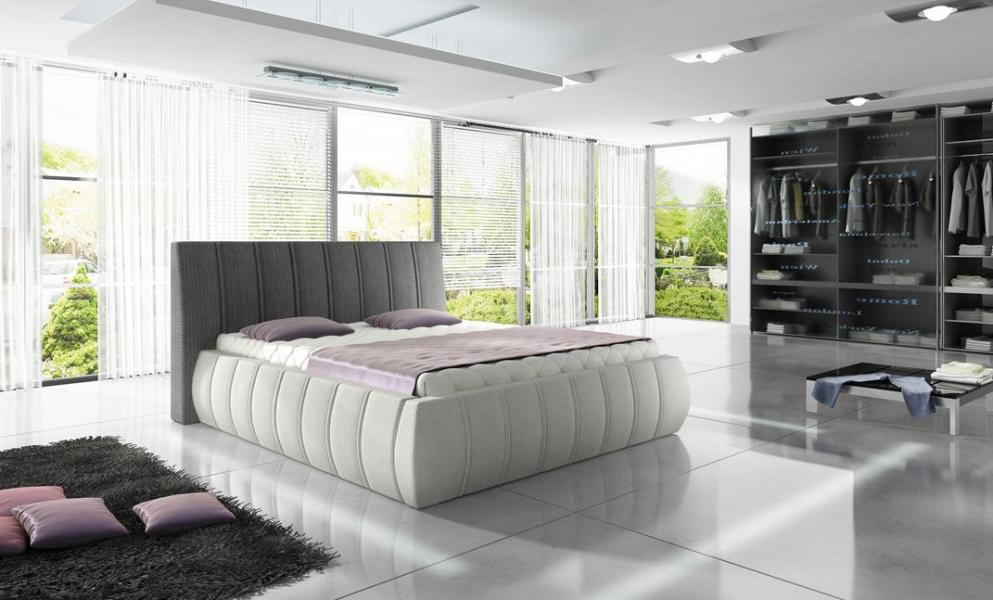 Ložnice Optima 180x200, manželská postel 180x200