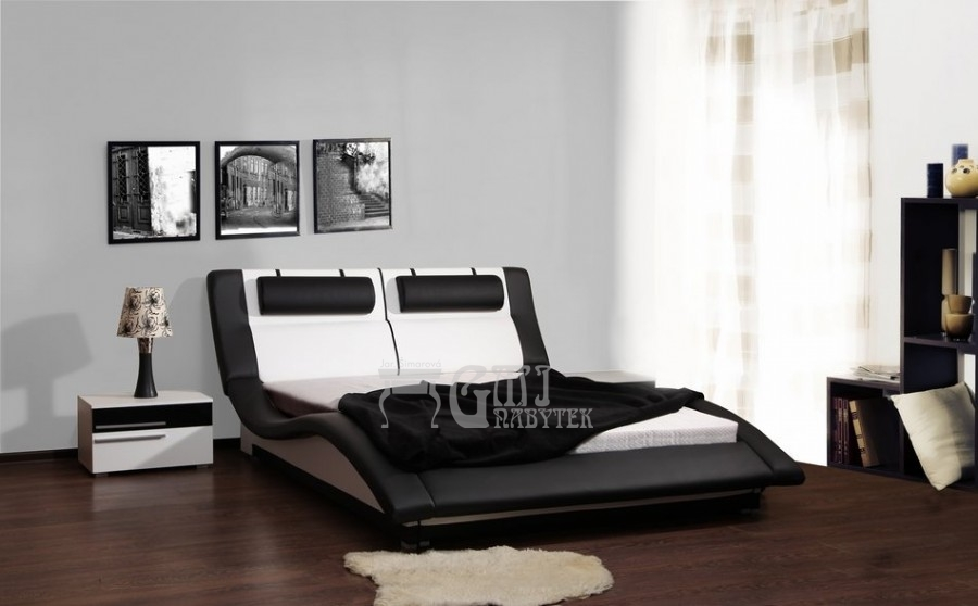 Ložnice Domino 160x200, Manželská postel Domino 160x200