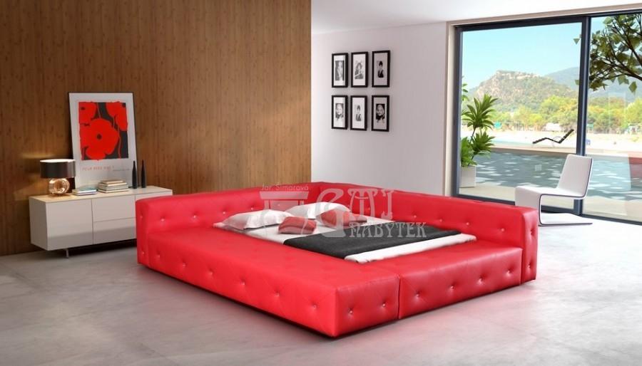 Ložnice Baron 200x200, Manželská postel Baron 200x200