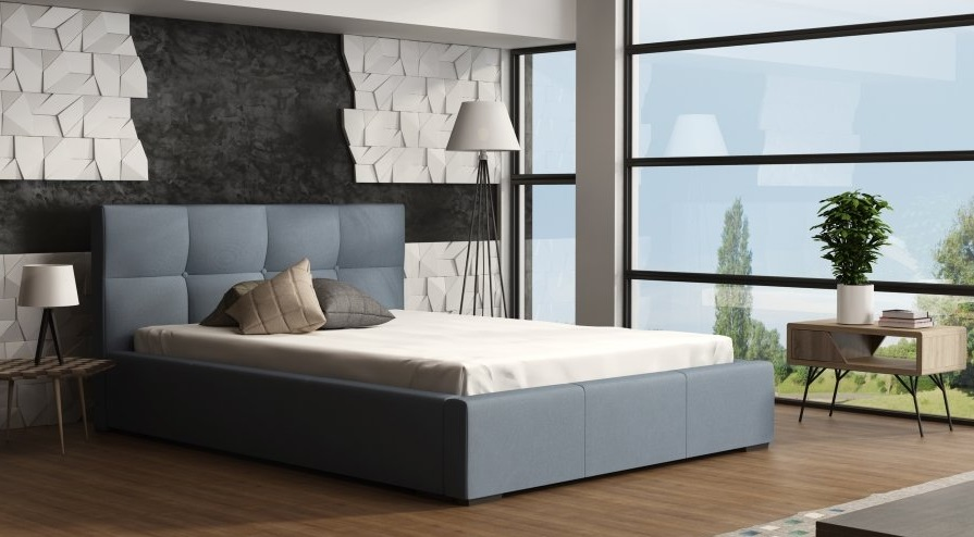 Ložnice Genua 200x200, Manželská postel Genua 200x2000