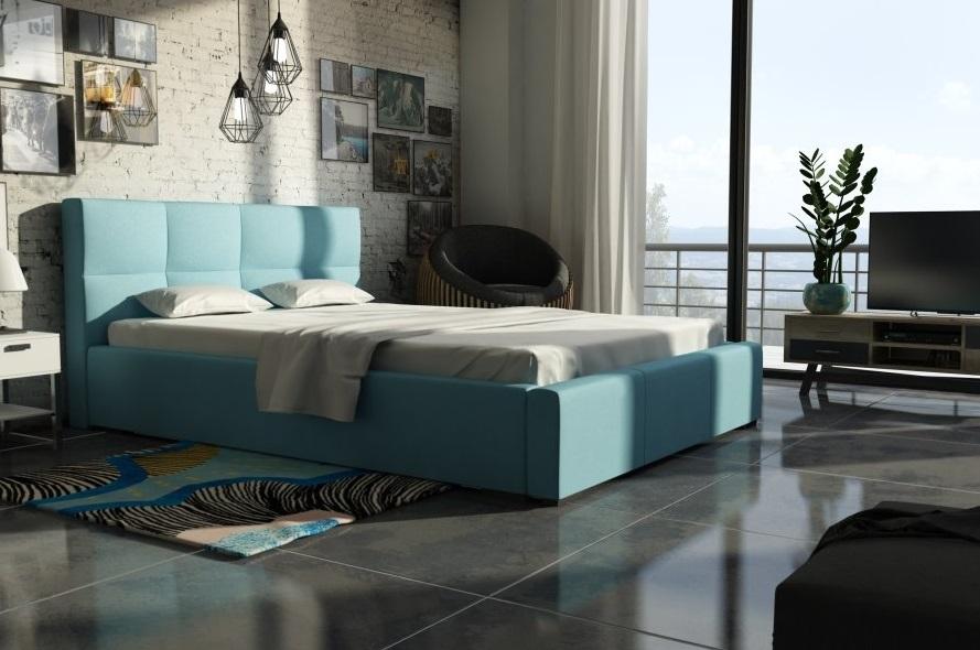 Ložnice Gio 200x200, Manželská postel Gio 200x200