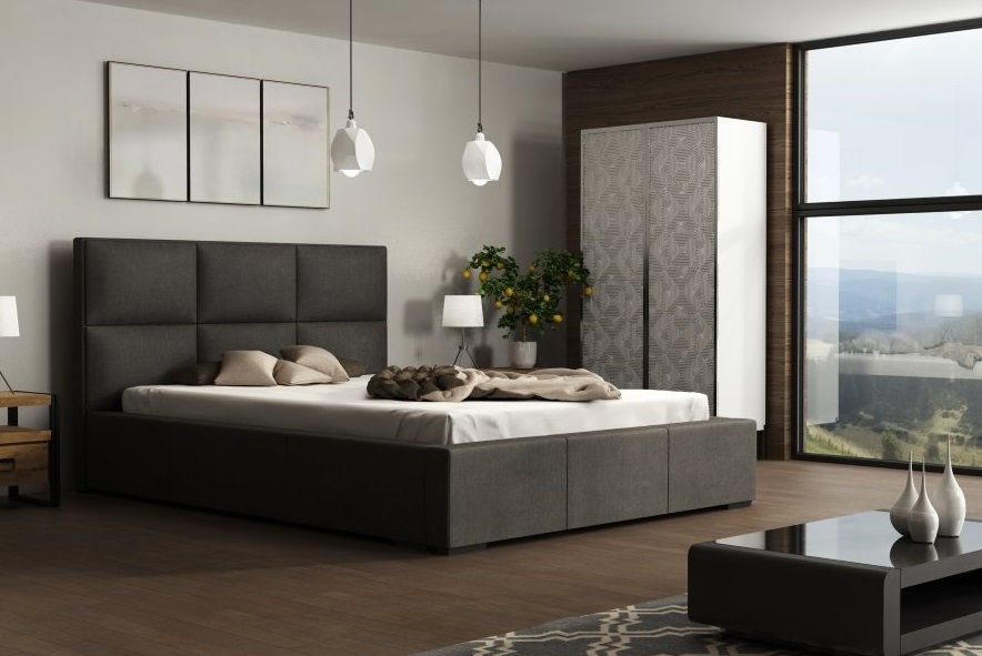 Ložnice Ibiza 160x200, Manželská postel Ibiza 160x200