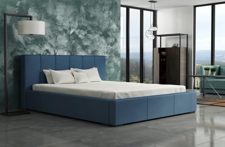 Ložnice Mistral 200x200, Manželská postel Mistral 200x200