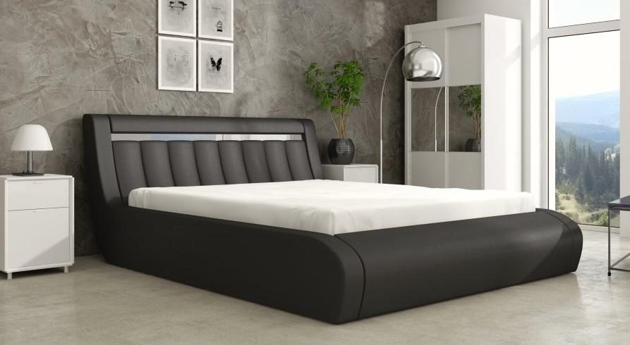 Ložnice Rico 140x200, Manželská postel Rico 140x200