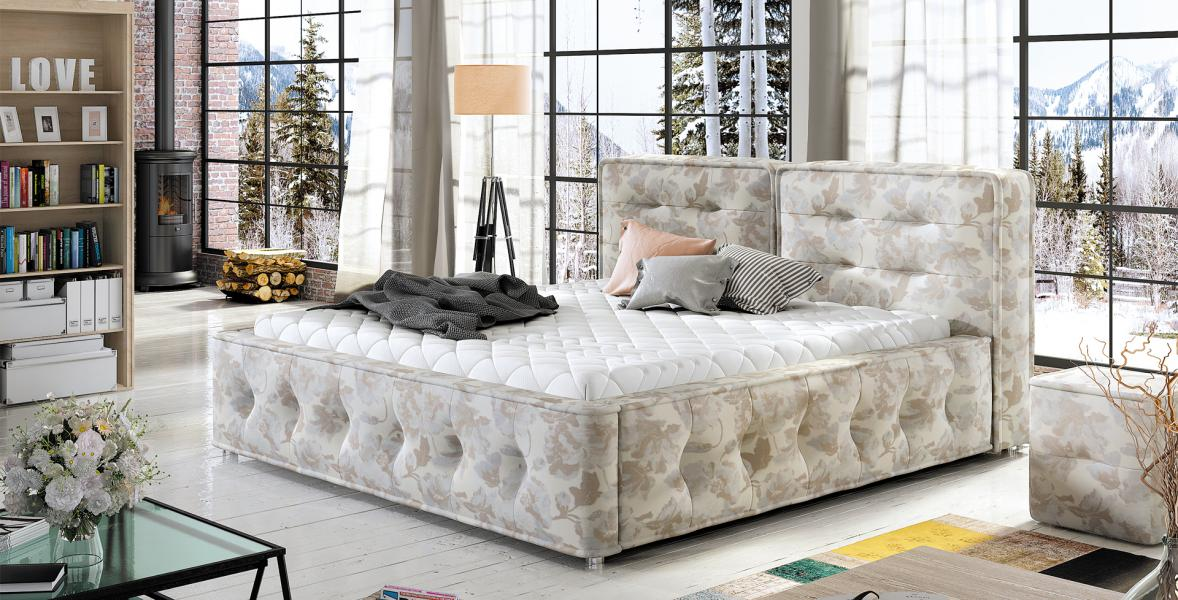 Ložnice Elea 180x200, manželská postel Elea 180x200