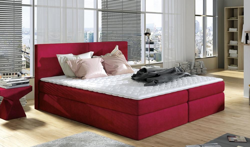 Ložnice Fredi 140x200, postel boxspring Fredi 140x200