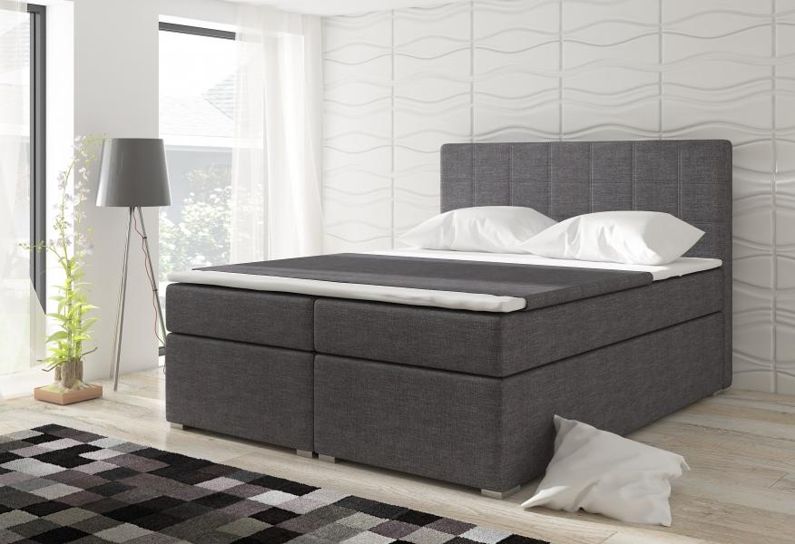 Ložnice Alicie 180x200, Alicie postel 180x200 látka savana 05